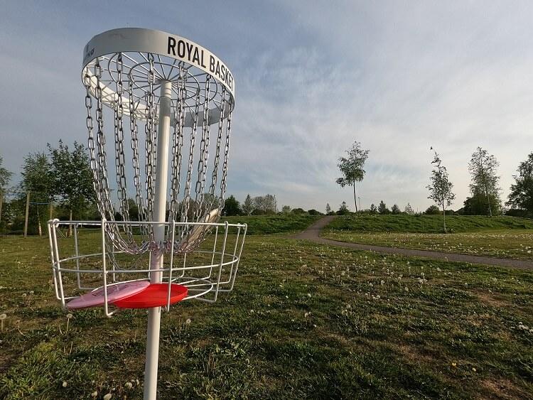 discgolf basket in steenwijk