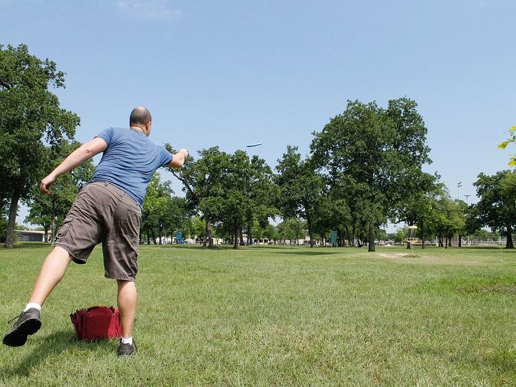 frisbeegolf parcours in in steenwijk